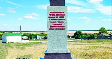 Монумент воинам